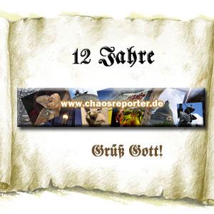 Chaosreporter.de Banner 12 Jahre