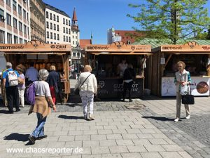 Brotmarkt am Viktualienmarkt München