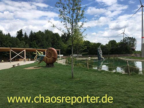 Dinopark in Denkendorf Außenbereich