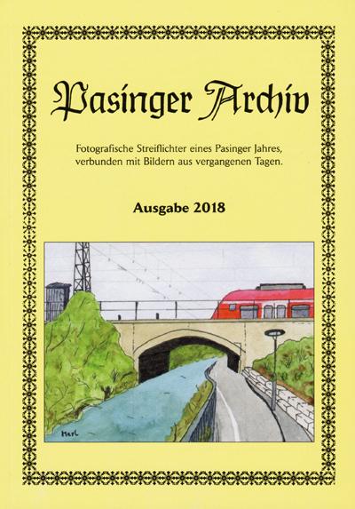 Pasinger Archiv 2018 Jahrbuch Ausgabe