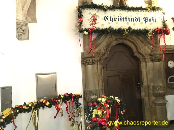 Christkindlpostamt München im Rathaus