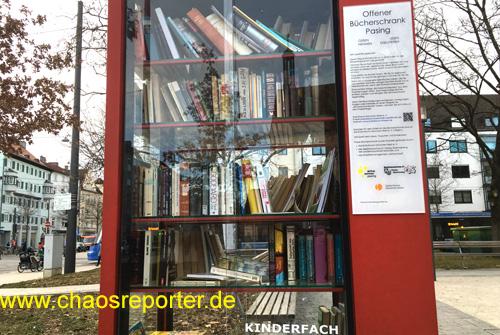 Bücherschrank Pasing