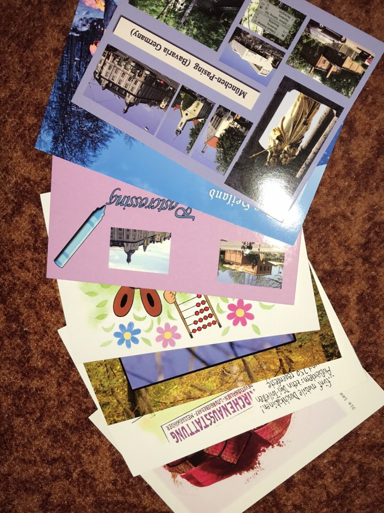 Postkarten für Postcrossing