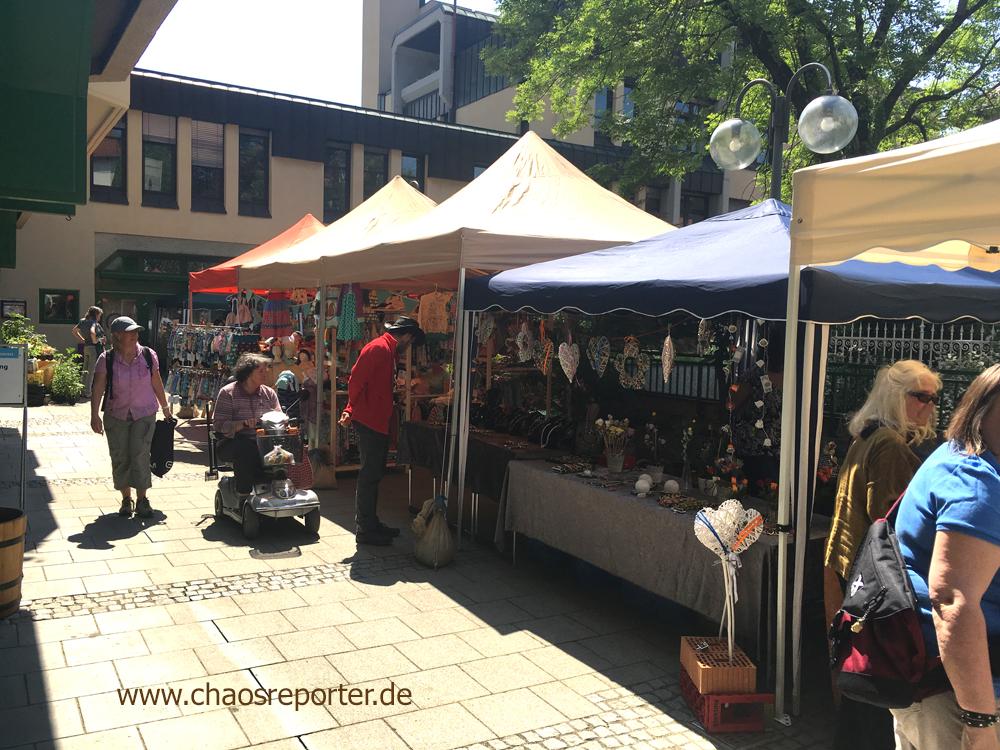 Hobby Künstler Markt im Eschenhof in Pasing