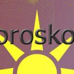 Horoskopgrafik mit Sonne