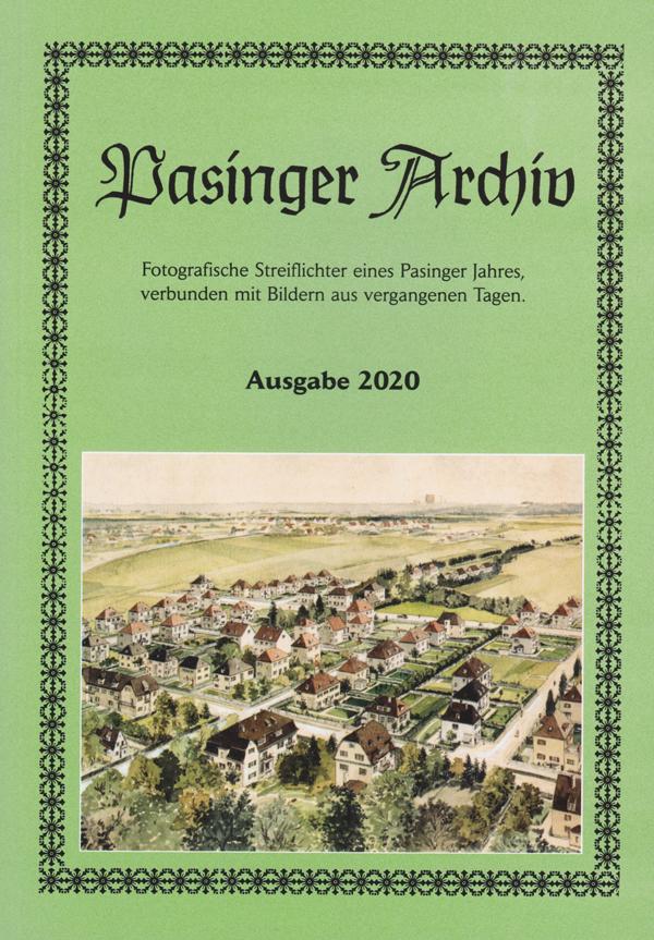 Pasinger Archiv e. V. Jahrbuch 2020
