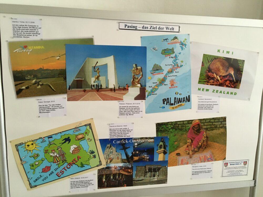 """Postkartenausstellung """"Pasing - das Ziel der Welt"""""""